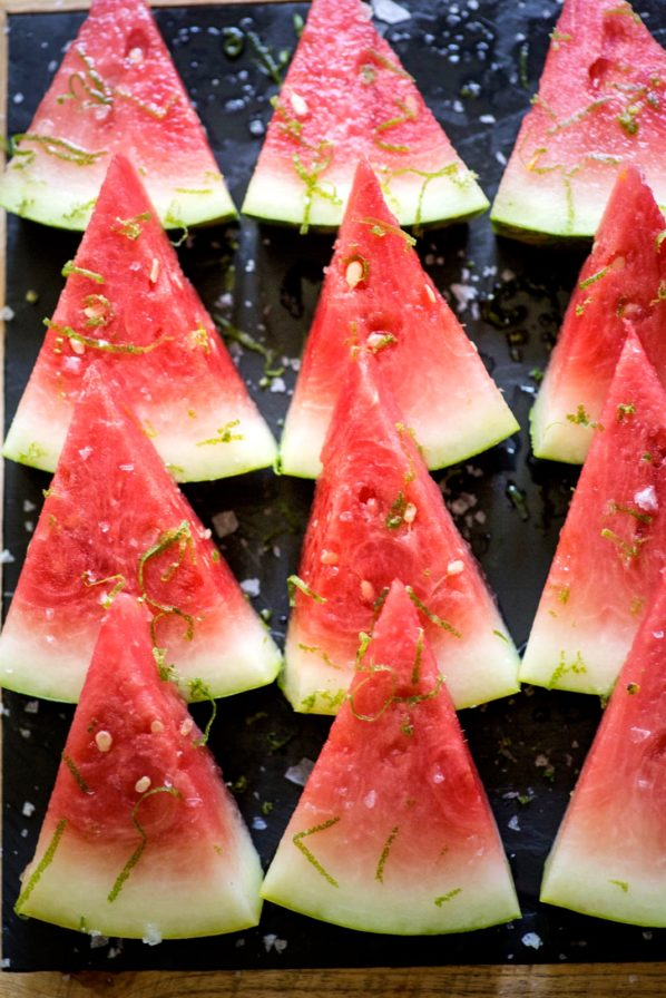 Melon d'eau à la téquila