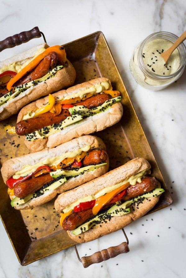 Hot dogs de luxe