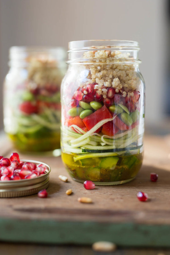 Salade-lunch en pot
