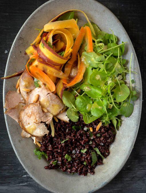 Salade minute