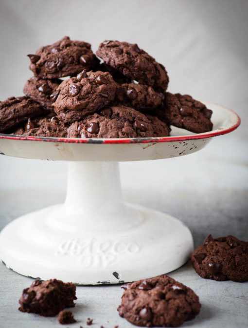 Biscuits choco-mélasse et graines de chia