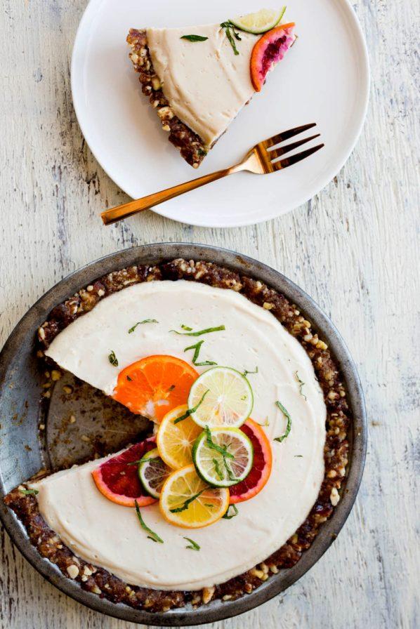 Tarte au citron sans cuisson