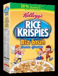 Céréales de riz sans gluten