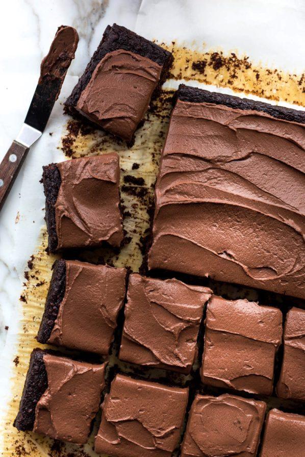 Gâteau au chocolat extra moelleux au mélangeur