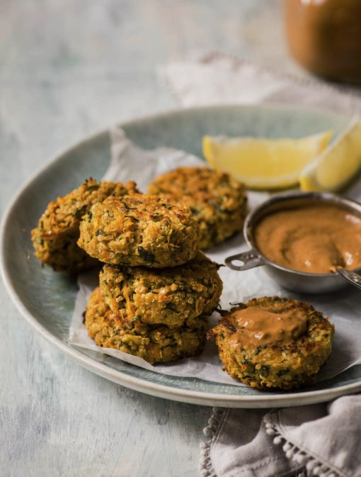 Croquettes de légumes et quinoa