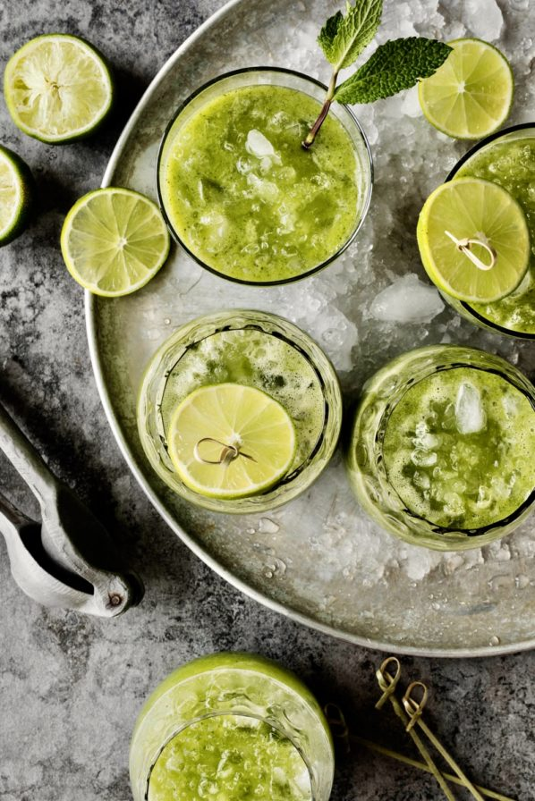 Limonade menthe-ananas