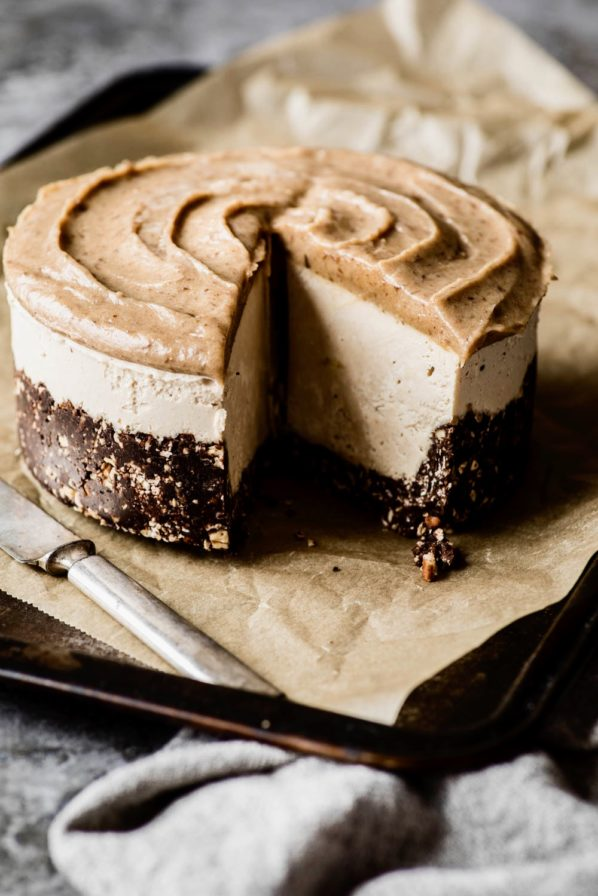 «Cheesecake» banane et caramel