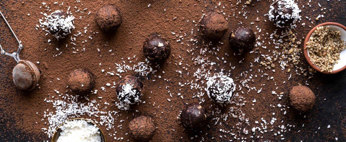On reçoit avec un dessert au chocolat!