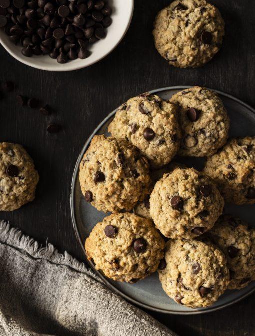 Biscuits au sarrasin et au chocolat