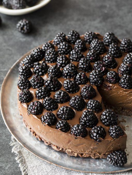 Gâteau mousse au chocolat à l'avocat
