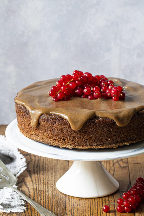Gâteau «sticky toffee pudding»