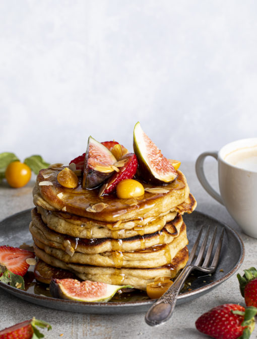 Pancakes cannelle-vanille incroyables