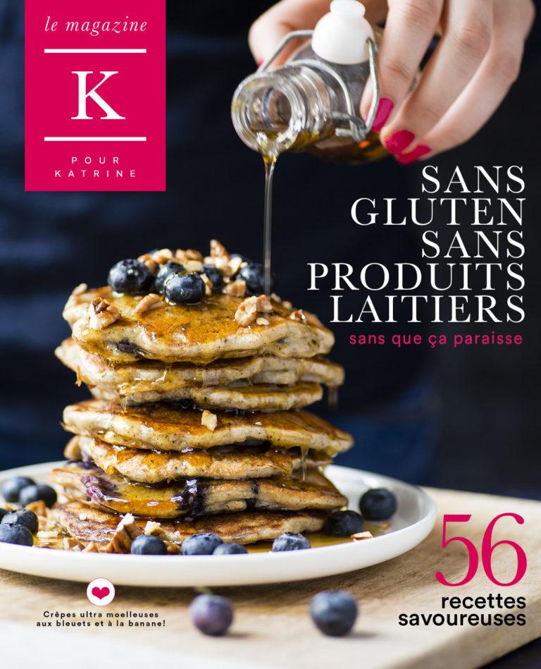 56 recettes sans gluten sans produits laitiers et sans que ça paraisse!