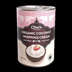 Crème à fouetter de coco