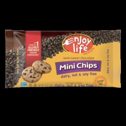 pépites de chocolat sans produits laitiers