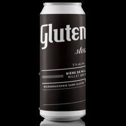 Bière Stout sans gluten
