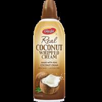 Crème fouettée de lait de coco