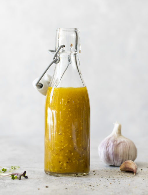 Vinaigrette à la moutarde à l'ancienne
