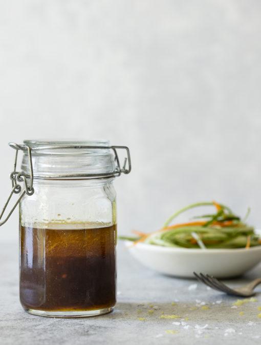 Vinaigrette asiatique au vinaigre balsamique