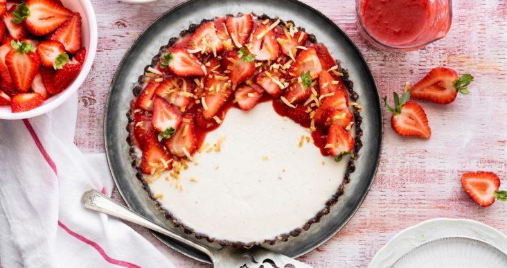 Des fraises pour papa!